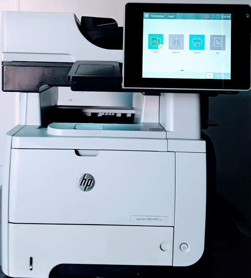 Impressora Hp Multifuncional Laserjet Mfp M525