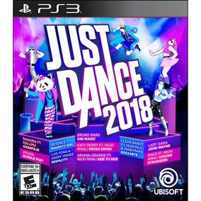 Just Dance 2018 Ps3 Mídia Física Lacrado Novo Envio Rápido