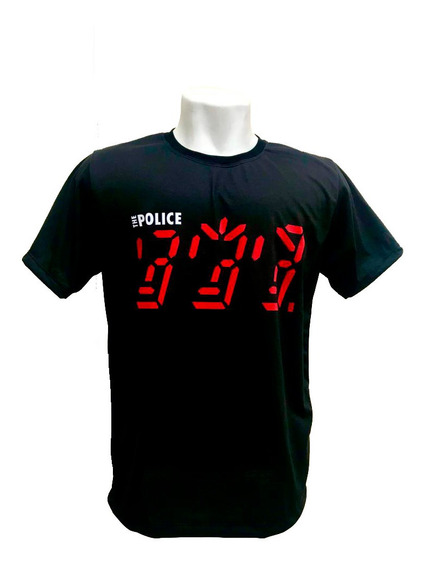 Camiseta The Police - Ghost In The Machine