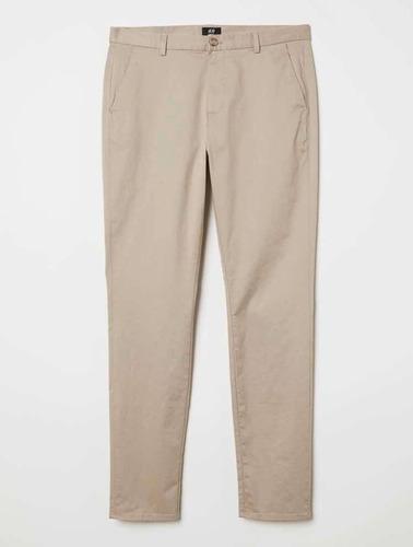 Pantalon Vestir Hombre Beige H M Mercado Libre
