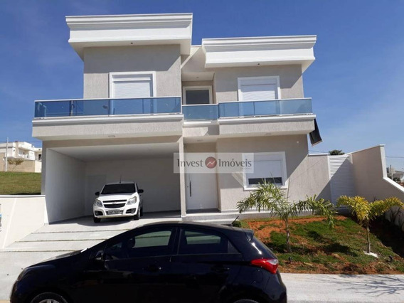 Sobrado Com 4 Dormitórios À Venda, 250 M² Por R$ 950.000 - Condomínio Terras Do Vale - Caçapava/sp - So1240