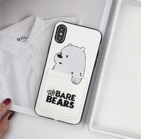 f22b97152bb Funda Case iPhone 6 7 8 Plus X Xs Xsmax Xr We Bare Bears Oso