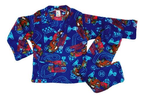 Pijama Térmica Niño Piel Dos Piezas Cars Rayo Mcqueen