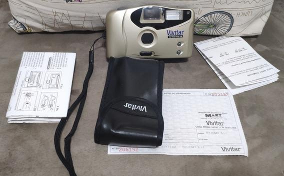 Câmera Fotográfica Retrô Vivitar Bv 20 - Ez Motor Plus Db