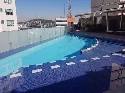 Penthouse De Lujo Amueblado Con 4 Recamaras En Monterrey Con 4 Cajones