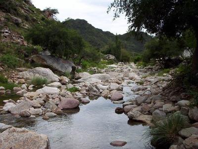 Lote , Terreno En Quines San Luis , A 100 Mts Del Rio Quines