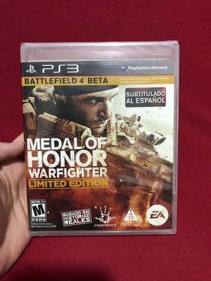 Jogo Medal Of Honor: Warfighter Ps3 Novo Lacrado