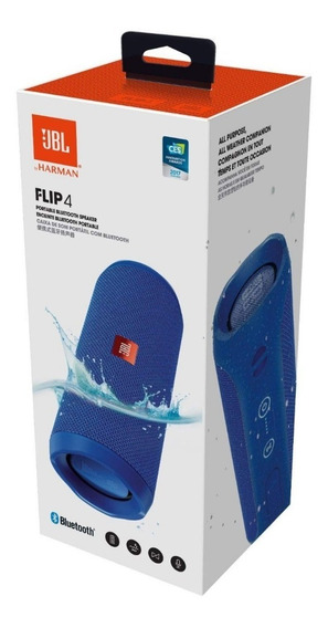 Bocina Jbl Flip 4 Bluetooth Contra Agua 12 Horas De Pila