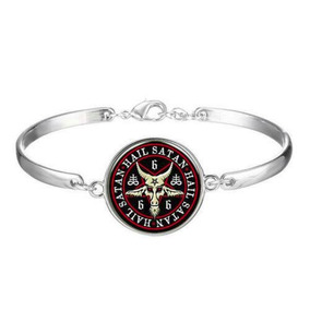 Bracelete Satanismo