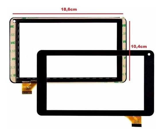 Tela Touch How Max Quad A0011 7 Polegadas 18,6 X 10,4 Cm