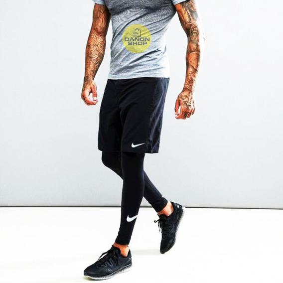 Conjunto Nike Lycra Licra Y Short Nike De Caballero 20ver