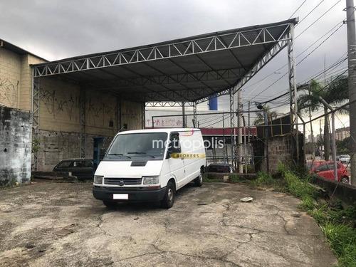 Terreno Para Alugar, 255 M² Por R$ 4.250,00/mês - Fundação - São Caetano Do Sul/sp - Te0295