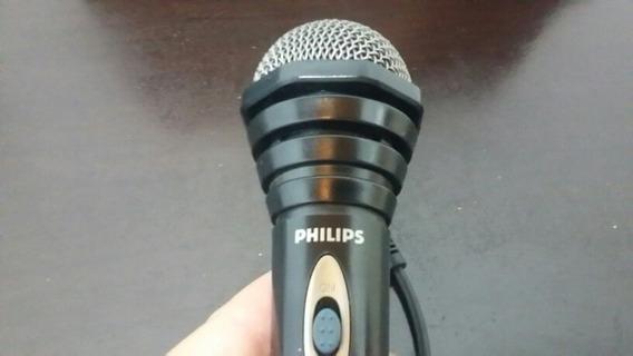Microfone Para Dvd Philips