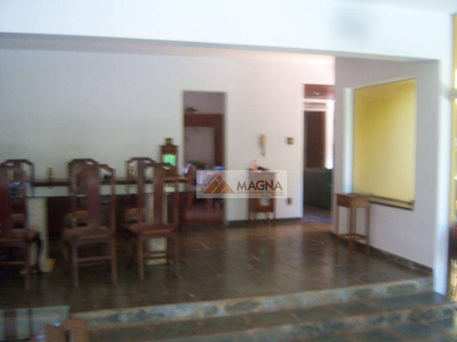 Casa  Residencial À Venda, Jardim Recreio, Ribeirao Preto. - Ca0297