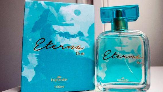 Perfume Eterna Blue Feminino Hinode 100ml