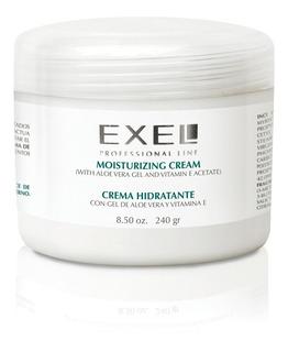 Crema Hidratante Gel Aloe Vera Y Vit E Exel 240gr