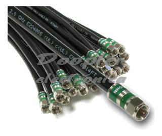 Cable Coaxial Rg-6 Tv Hd Digital Directv Tda Fibertel 4 Mts