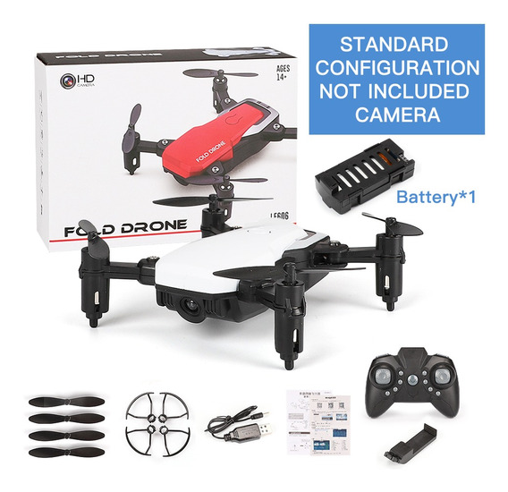 Lf606 Mini Drone Com Camera Standard Sem Câmera Branca