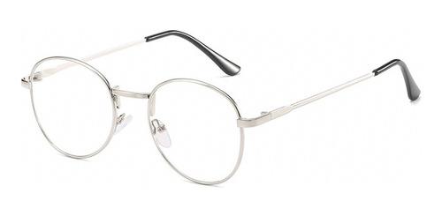 Imagen 1 de 8 de Lente Transparente Gafas De Marco Clásico De La Moda Gafas