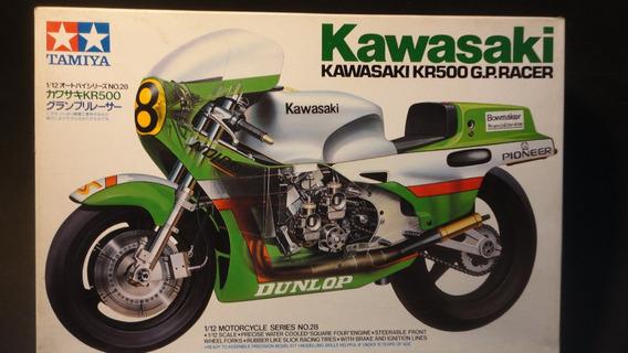 Llm - Moto - Kawasaki Kr500 G.p Racer Tamiya 14028 1/12