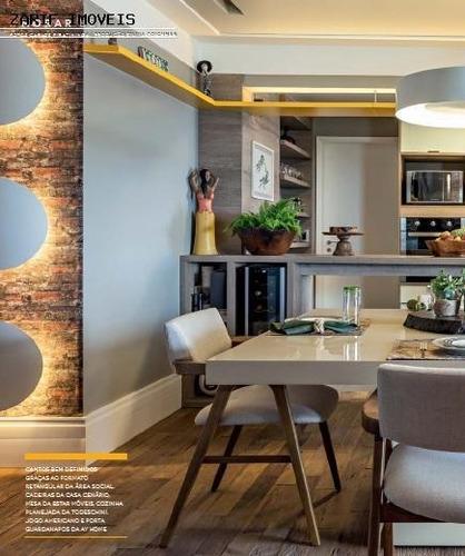 Apartamento Para Locação Em São Paulo, Jardim Caravelas, 1 Dormitório, 1 Suíte, 3 Banheiros, 2 Vagas - Zzalstel1_1-668595