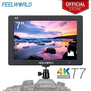 Feelworld T7 7 Pulgadas Ips 4k Camara Hdmi Monitor De Campo