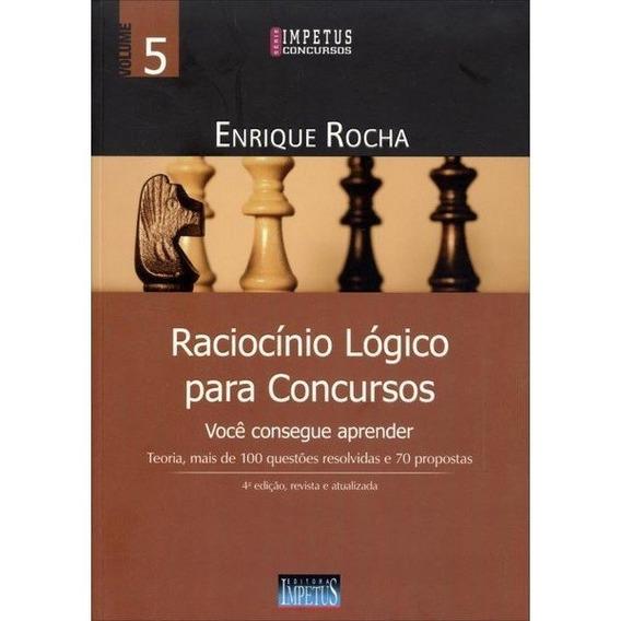 Raciocínio Lógico Para Concursos - 4ª Ed