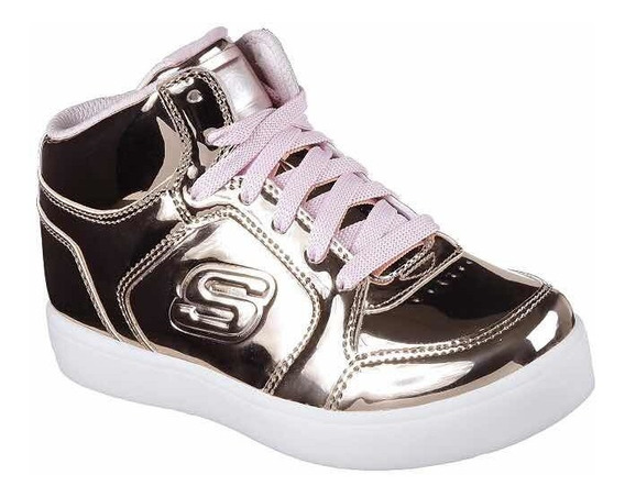 Zapatos Con Luces Skechers Energy Lights Para Niñas Talla 34