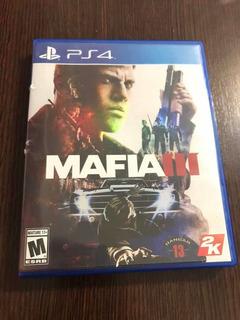 Ps 4 Mafia Iii (con Mapa Y Código Válido Hasta 2021 )