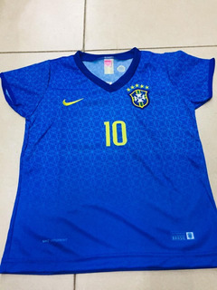Camisa Marta 10 Seleção Brasileira Feminina Azul