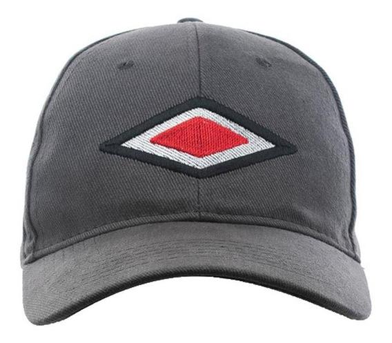 Gorra Umbro U-cap Diamond U-upmg012-gvv Gris