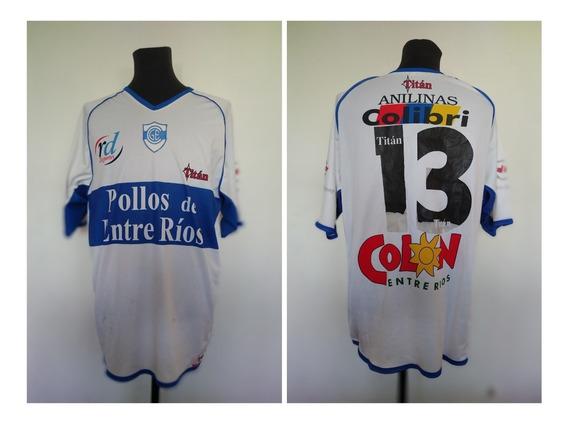 Camiseta Gimnasia Concepción Del Uruguay 2003/2004 #13