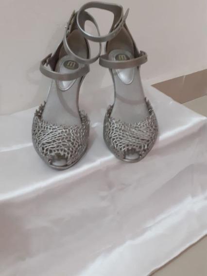 Sapato Melissa Original Usados Em Boas Condições