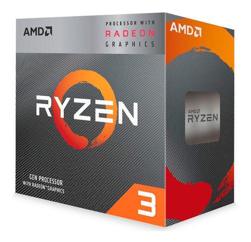 Processador Amd Ryzen 3 3200g 3.6ghz/4ghz 6mb Am4