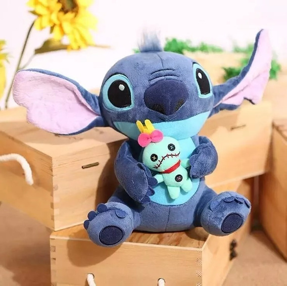 Boneco Stitch De Pelúcia Plush 23cm Da Disney Store Original
