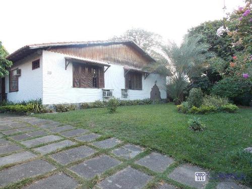Imagem 1 de 17 de Casa Com 4 Dormitórios À Venda, 350 M² Por R$ 2.500.000,00 - Campo Grande - Rio De Janeiro/rj - Ca0335