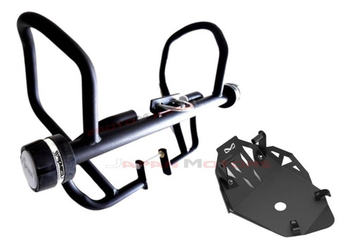 Defensa Slider + Protector De Motor Honda Xr150 - Xr 150l