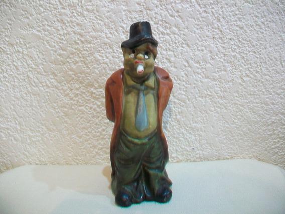 Alcancia De Ceramica Tipo Muñeco - 21 Cm.