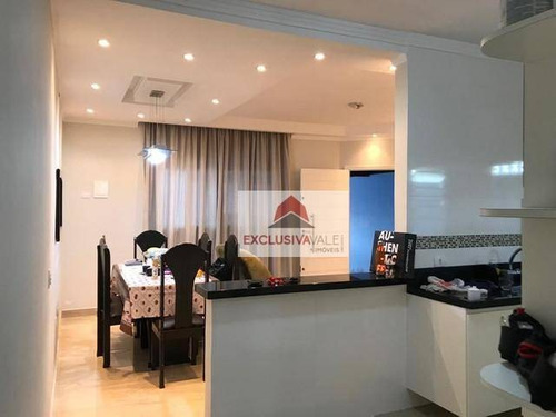 Casa À Venda, 120 M² Por R$ 450.000,00 - Villa Branca - Jacareí/sp - Ca0824