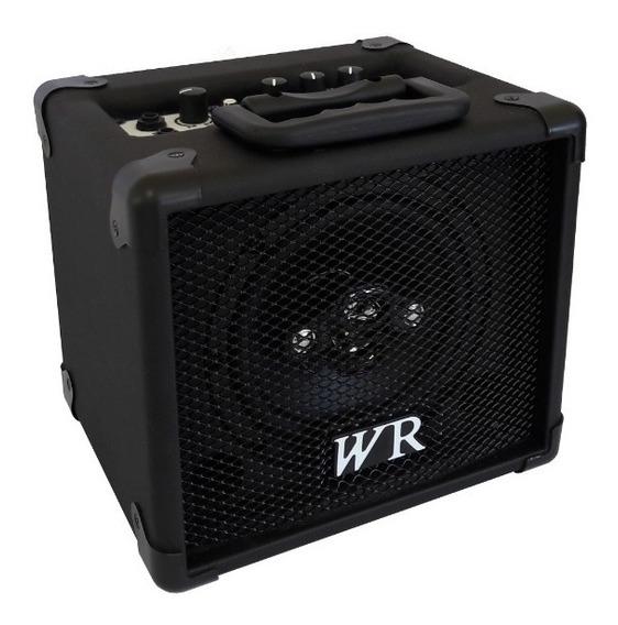 Caixa De Som Amplificada Bluet Microfone/guitarra/violão 30w