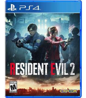 Resident Evil 2 Ps4 Nuevo Sellado Fisico En Beyond_trc