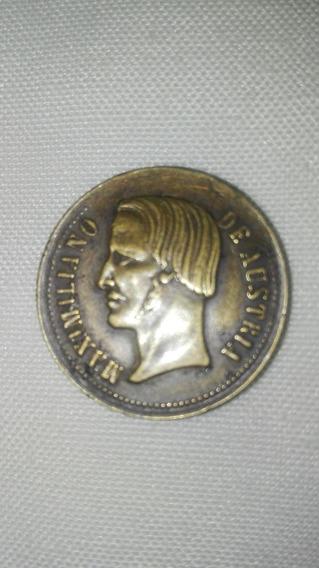 Antigüedad Junta Notables 1863 Maximiliano Pieza Muy Rara