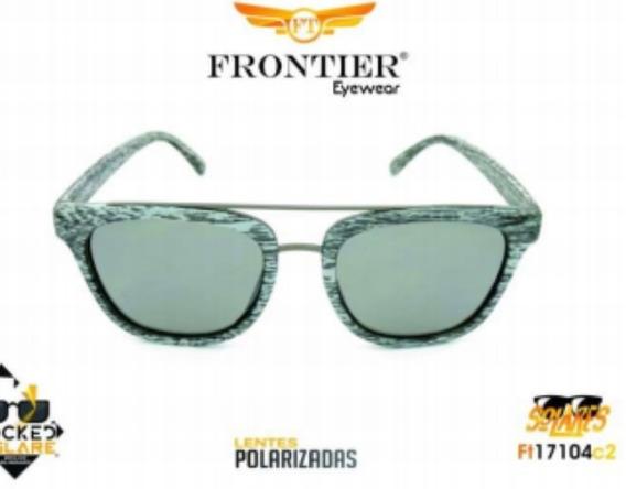 Óculos Solar Polarizado Da Grife Frontier