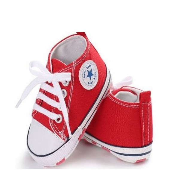 Tênis Sapatinho Bebê Mod. All Star Infantil Sapato Masculino