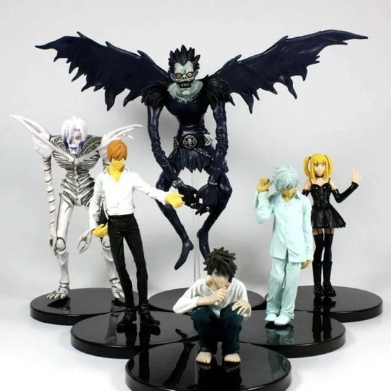 Death Note Set Com 6 Personagens