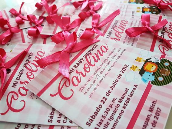 50 Invitaciones Baby Shower, Envio Gratis!!