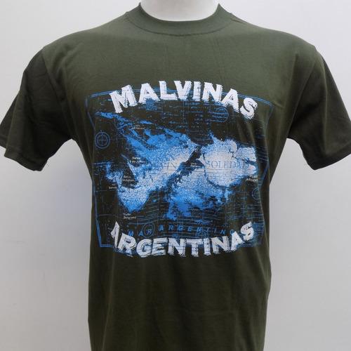 Remeras De Las Islas Malvinas Argentinas Que Sea Rock