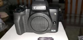 Camera Canon M50 - Vídeo 4k, Sensor Profissional, Mirrorless