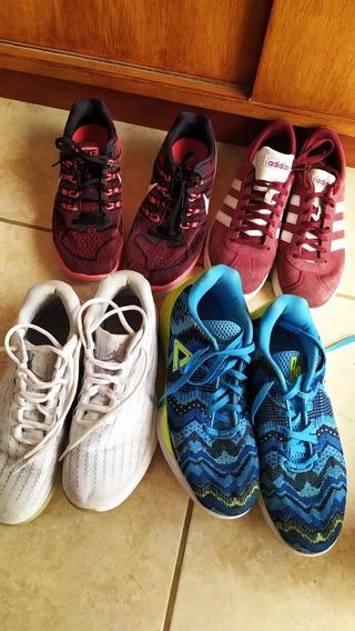 Zapatillas Nike, Jordan, Peak Y adidas Muy Poco Uso