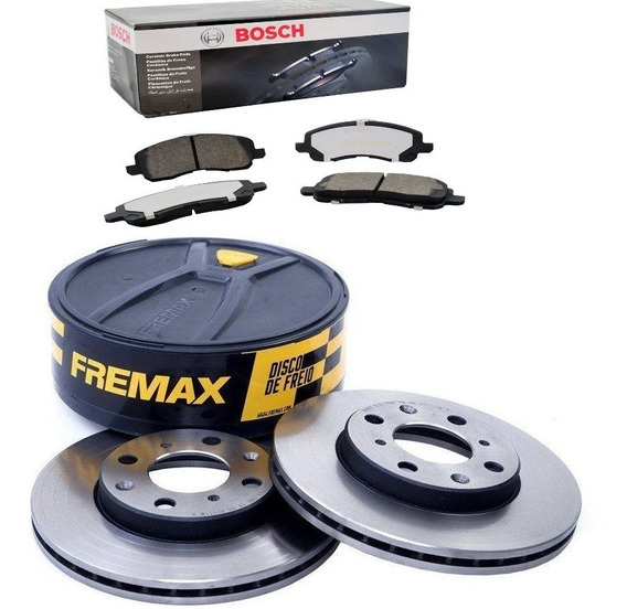 Kit Disco Fremax + Pastilha Cerâmica Bosch Outlander Asx